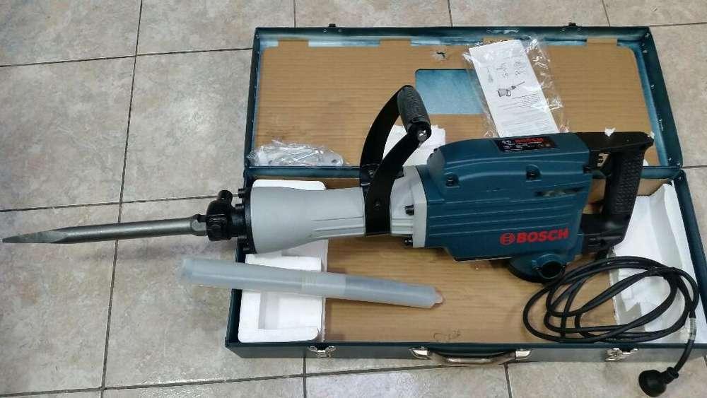 Martillo Demoledor Bosch 22kg sin Uso