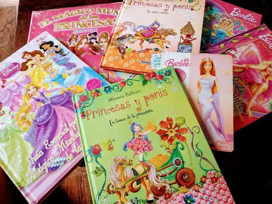 Libros de Princesas. Excelente Estado.