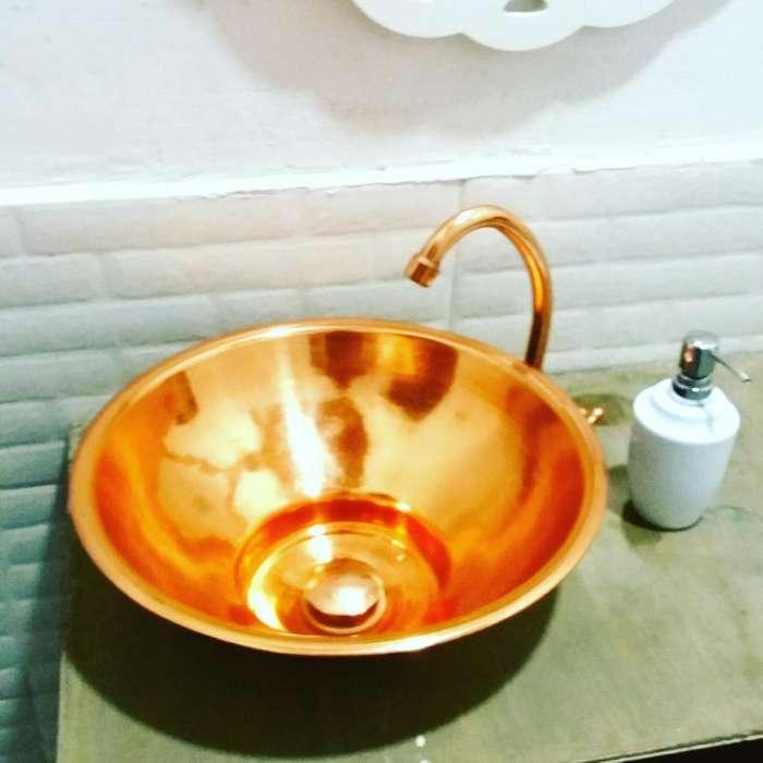 Lavamanos en Cobre