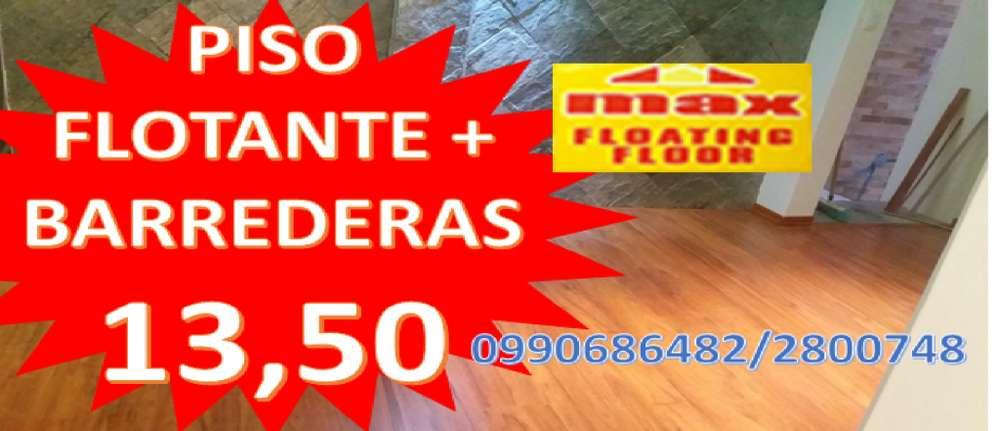 Pisos Flotantes desde 11 Instalado Inf. 0990686482 / 2 800 748