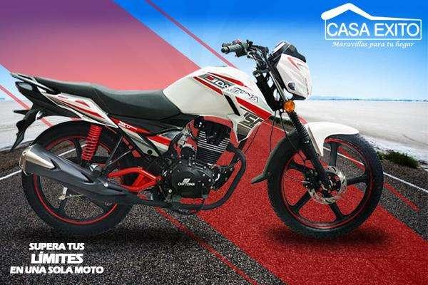 Moto Daytona Dy150 Zero 150cc Año 2018 Color Negro / Rojo / Blanco Casa Éxito