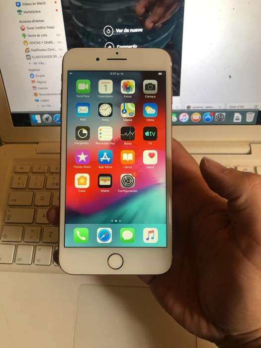 Ganga iPhone 7 Plus 256Gb Rosado Legal