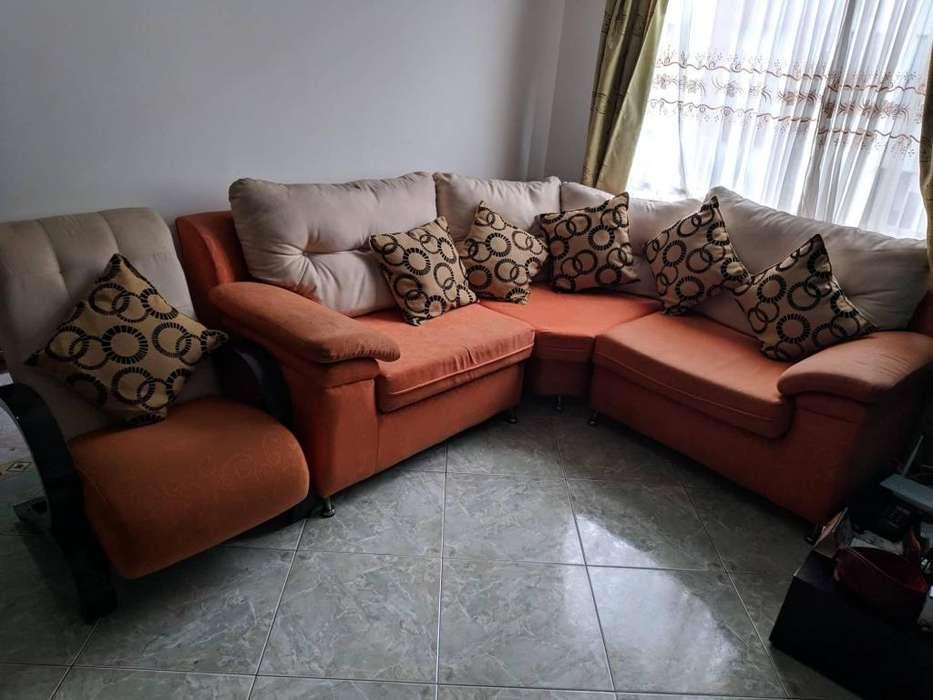 Sofa en L en venta