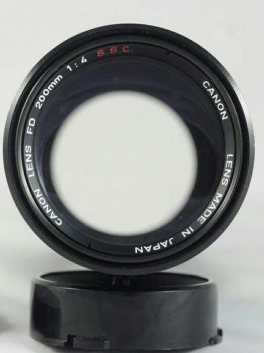 Lente Canon 200 Mm F4 Fd Ssc