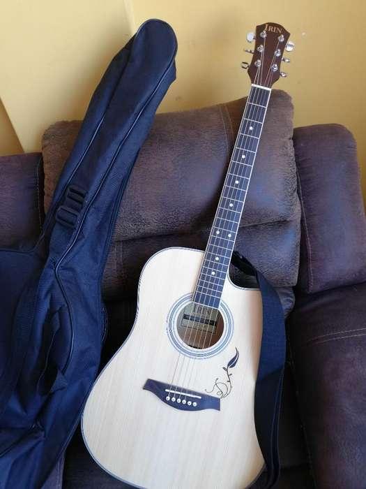 Remato Guitarra Acustica Nueva