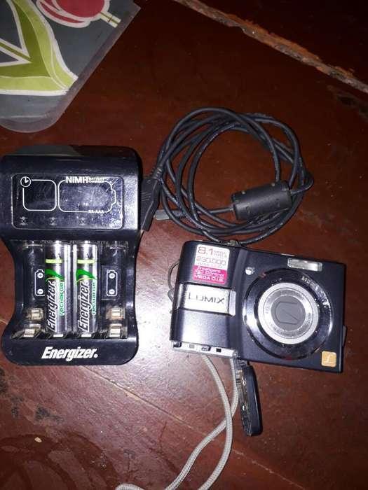 Camara Panasonic Y <strong>pila</strong>s Recargables
