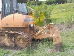 Tractor de oruga Case 1850 similar cat D6