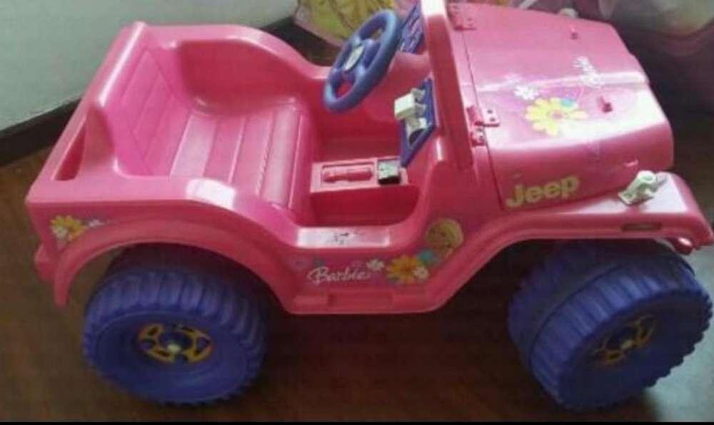 Carro de La Barbie a Bateria