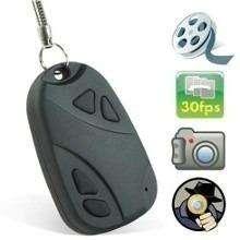 Mini Camara Tipo Llavero de Carro Graba Audio y Video en la Micro