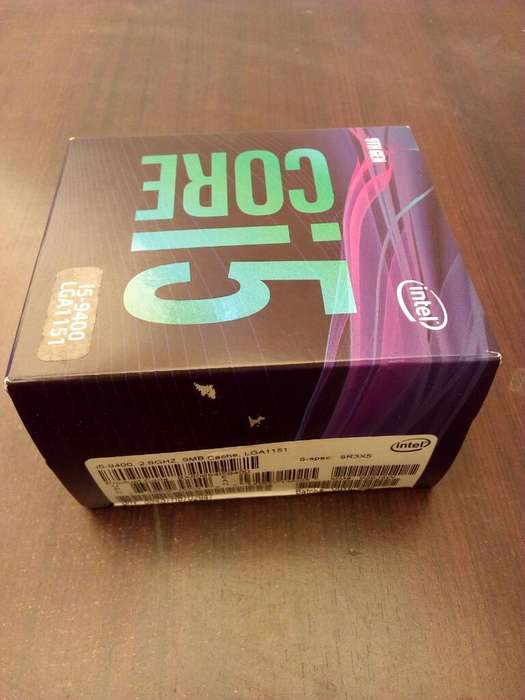 Vendo O Cambio Core I5 9400 Nuevo