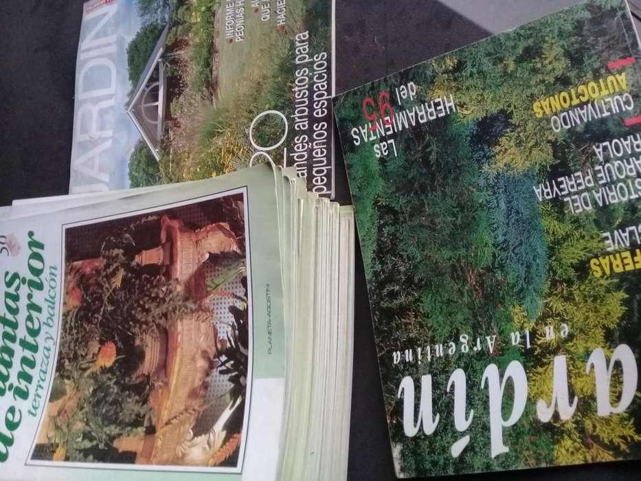Lote 53 revistas de plantas