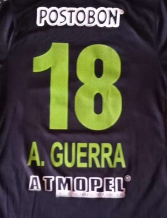Camiseta Atletico Nacional Guerra