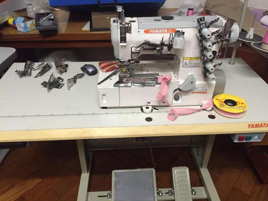 Maquina Industrial Collareta Yamata 5 Hilos
