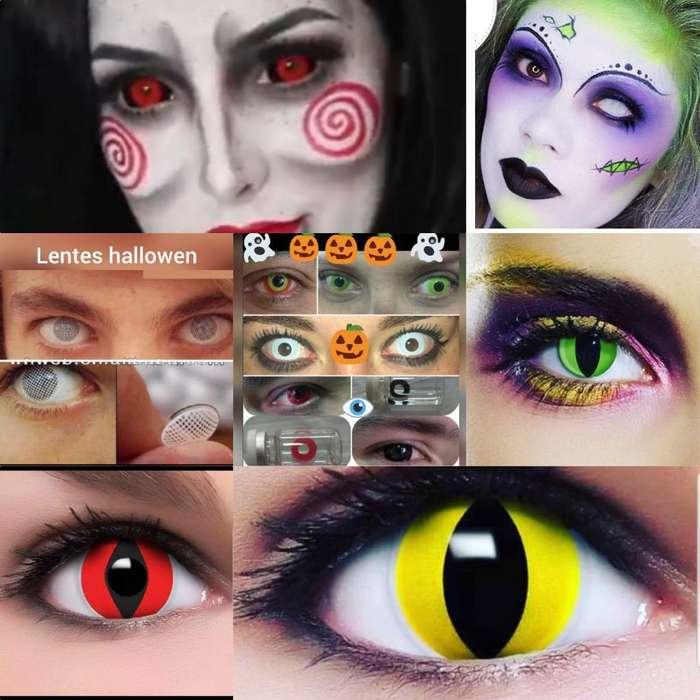 Lentes de Contacto Halloween