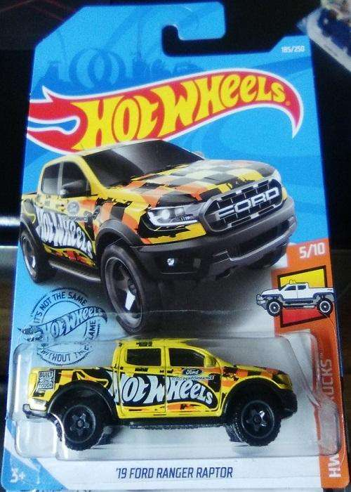 Hot Wheels Camioneta '19 Ford Ranger Raptor