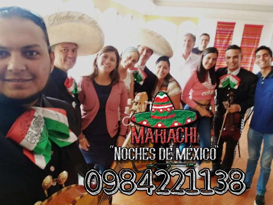 Mariachi Show Hermoso Sangolqui Llama Ya