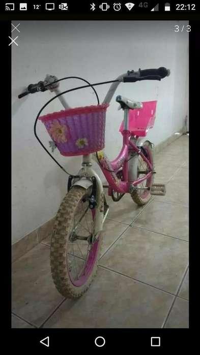 Bicicleta Infantil para Nena