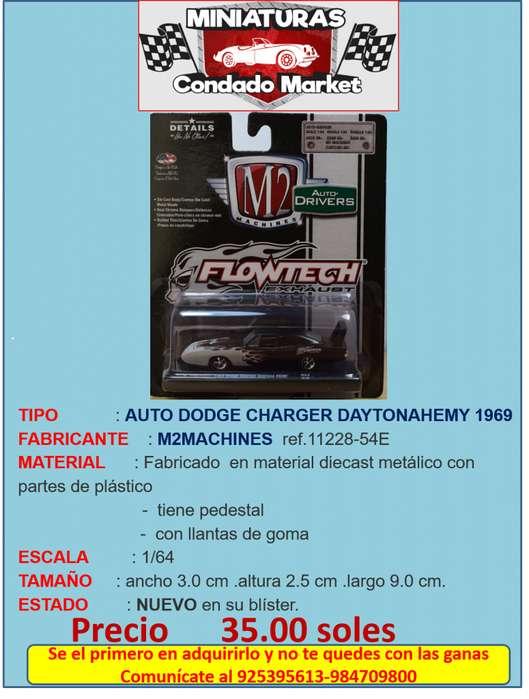 AUTO DODGE CHARGER DAYTONAHEMY 1969