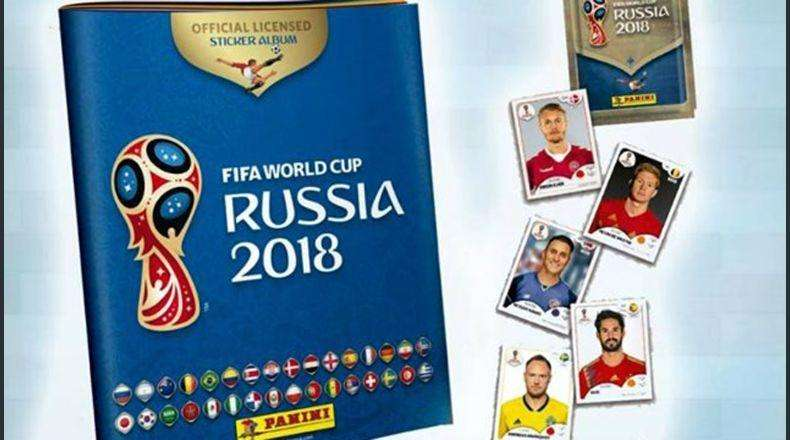 album panini rusia 2018 670 laminas version italiana