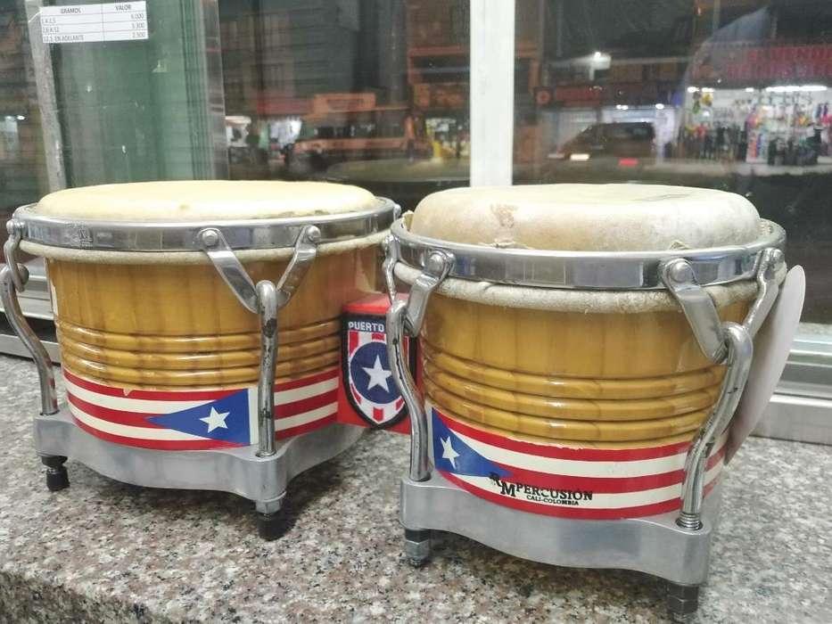Bongos Rm Percusión Puerto Rico