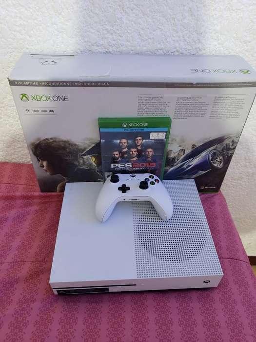 Vendo Xbox One S de 500gb con Garantia