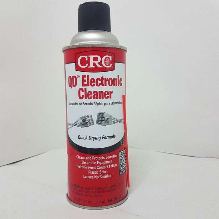 Crc Qd Usa Limpiador Electronico Contactos Circuitos 11oz