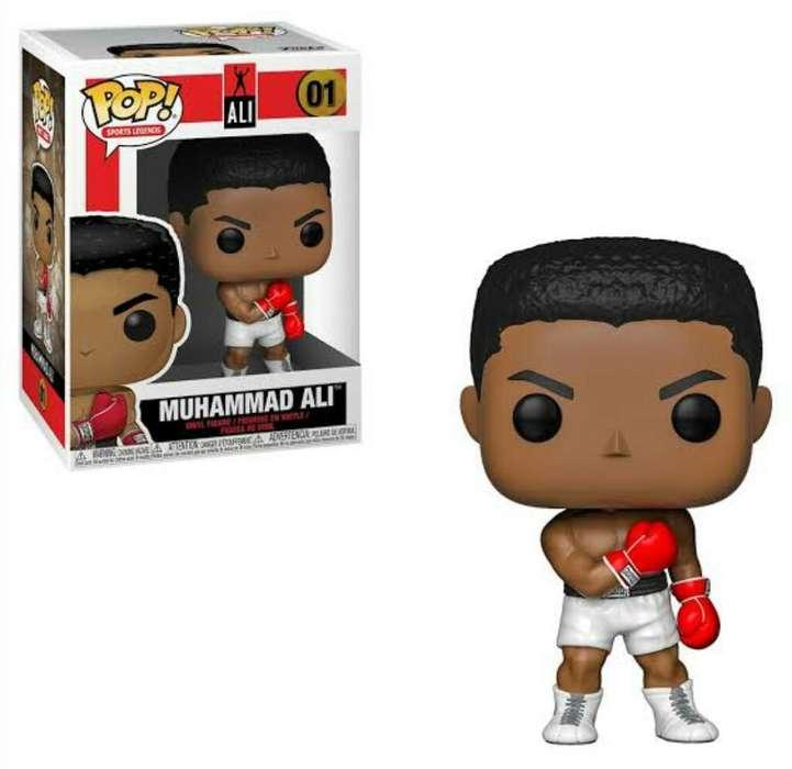 Funko Pop Muhammad Ali Boxeador Nuevo