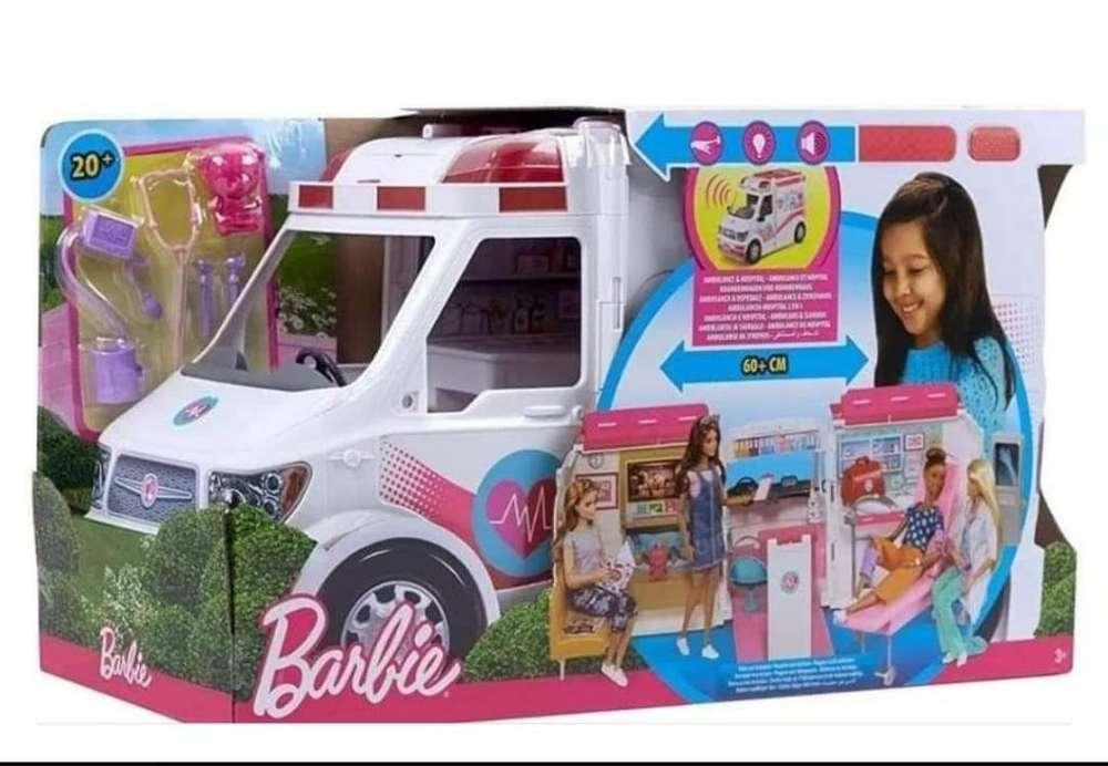 Ambulanvia de La Barbie Nueva