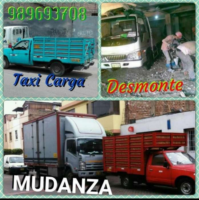 Transporte de Mudanza / Elimino Desmonte