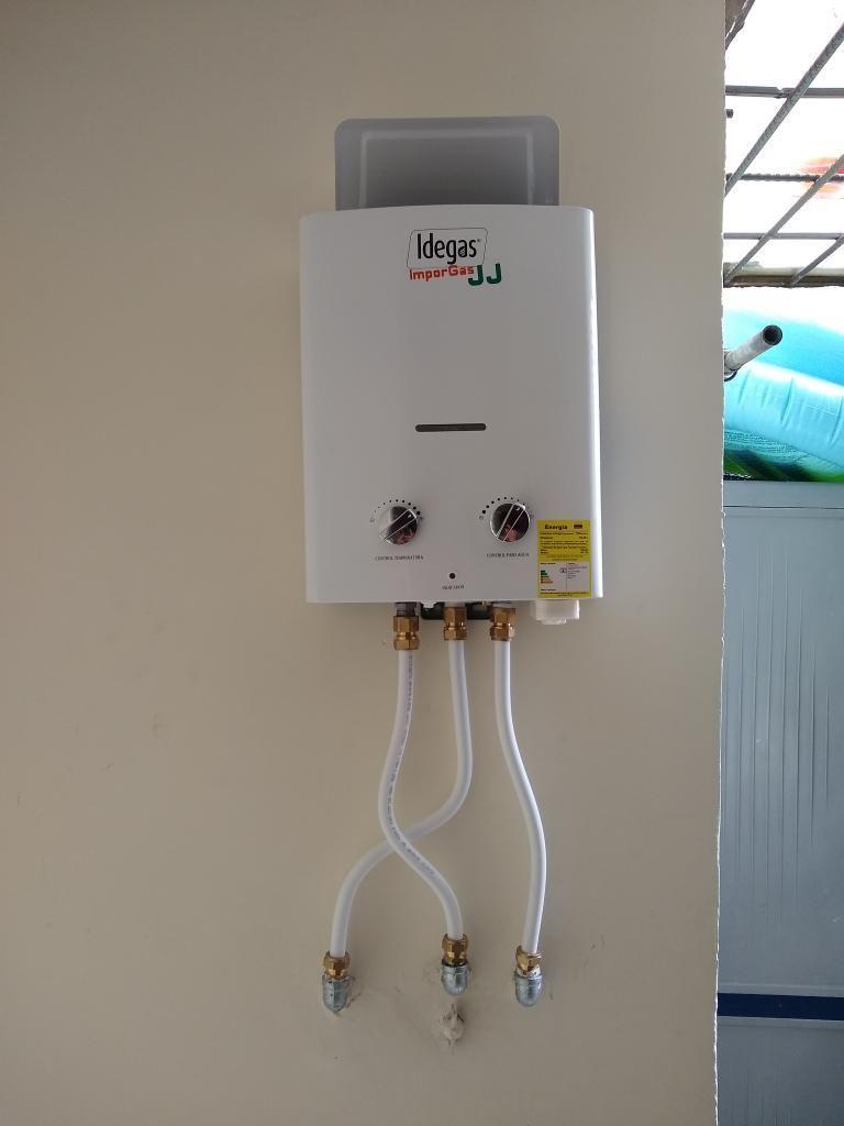 Mantenimiento a Calentadores de Gas N