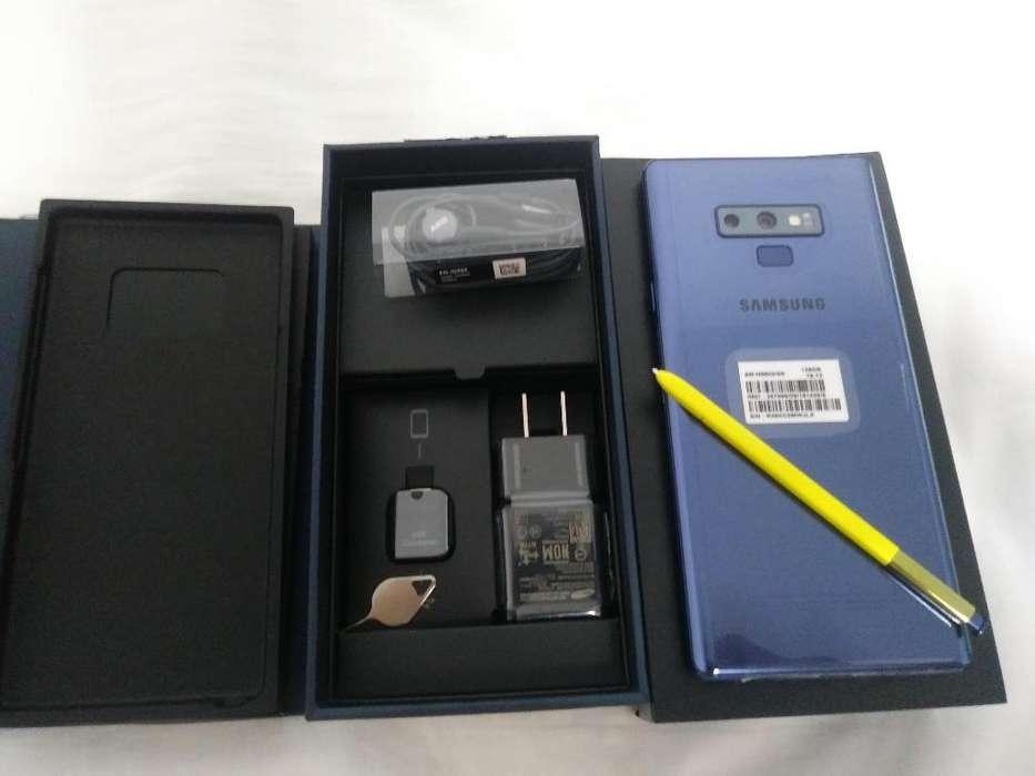 Vendo Samsung Note 9 - Azul