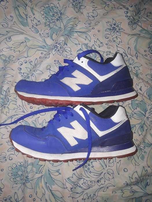 Zapatillas Nb Originales Poco Uso