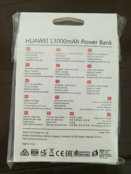 Cargador Portatil Power Bank 1300