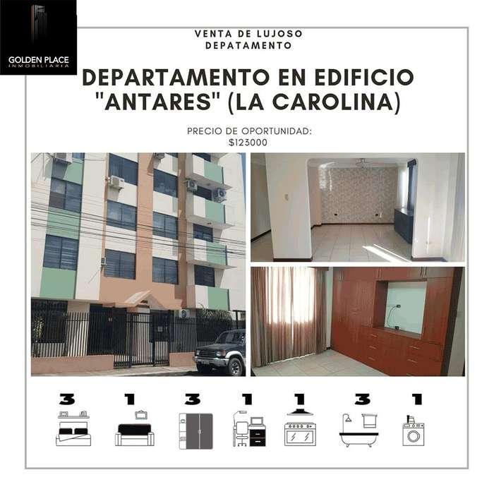 VENTA DE DEPARTAMENTO EN SECTOR LA CAROLINA ( EDIFICIO ANTARES)