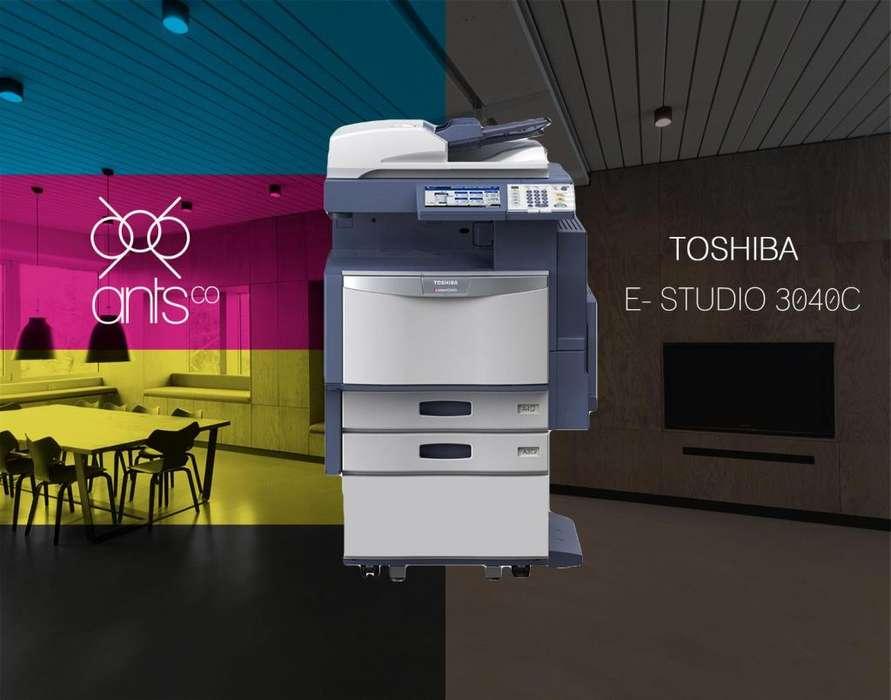Toshiba 3040C - Multifuncional Laser a Color - Impresión, Escáner, Copiado - Usada - Ants Co