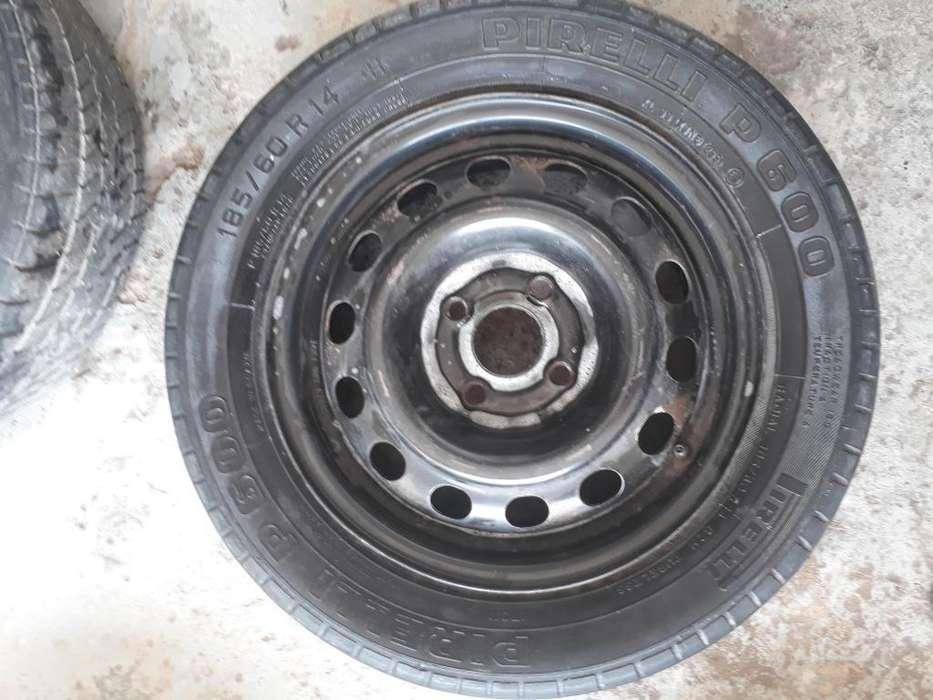 Cubierta Pirelli P600 185/60/14