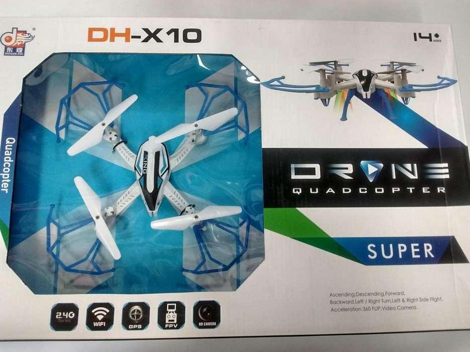 Drone mediano sin camara incorporarla ref dhx10