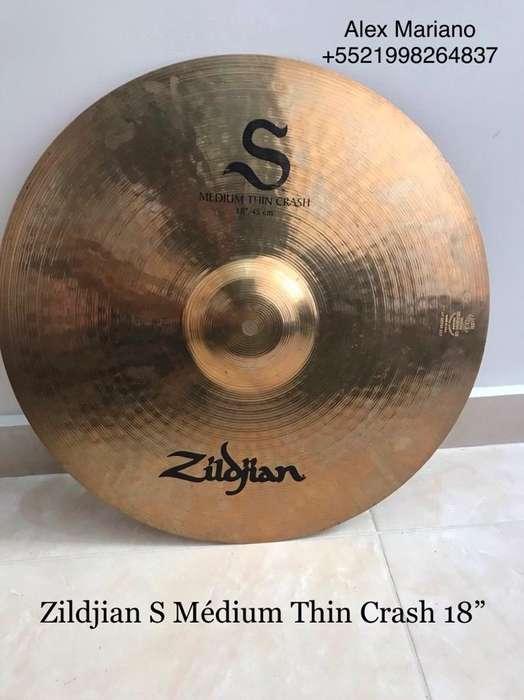 Platillo Zildjian S Crash 18