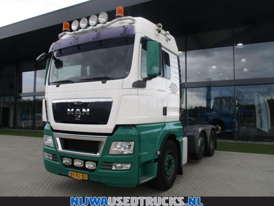MAN TGX 26.440 Steered axle 6X2 - To be Imported
