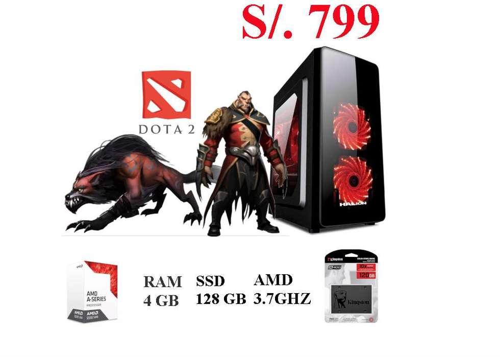 PC GAMER AMD A6-9400 3.7GHZ 4GB RAM 1GB DE VIDEO