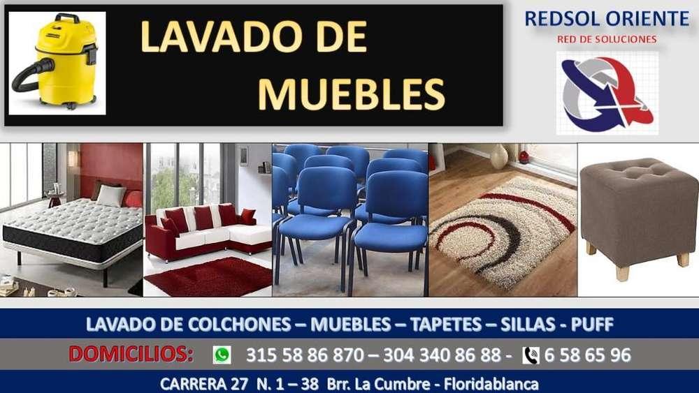 Lavamos Muebles Colchones Tapetes