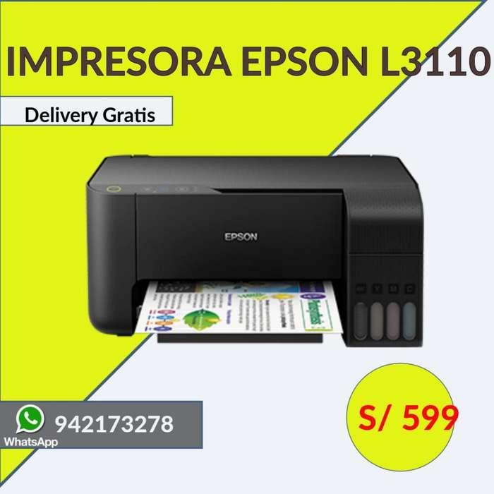 Impresora Epson L3110 Ecotank