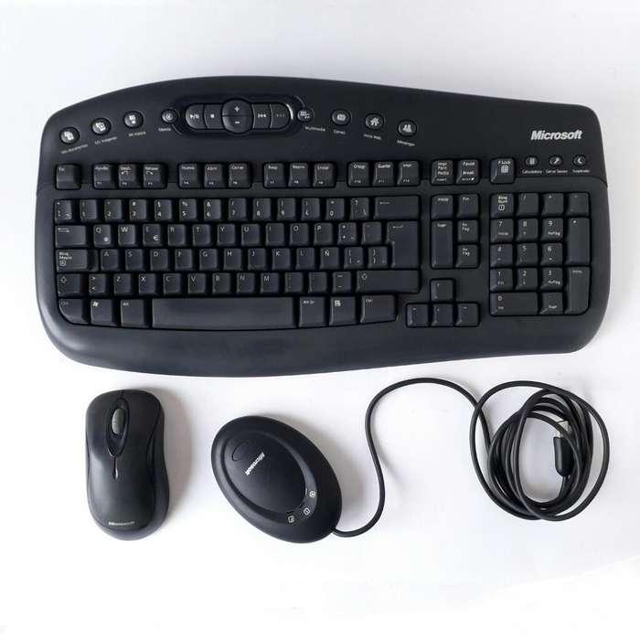 Teclado Y Mouse Multimedia Inalámbricos