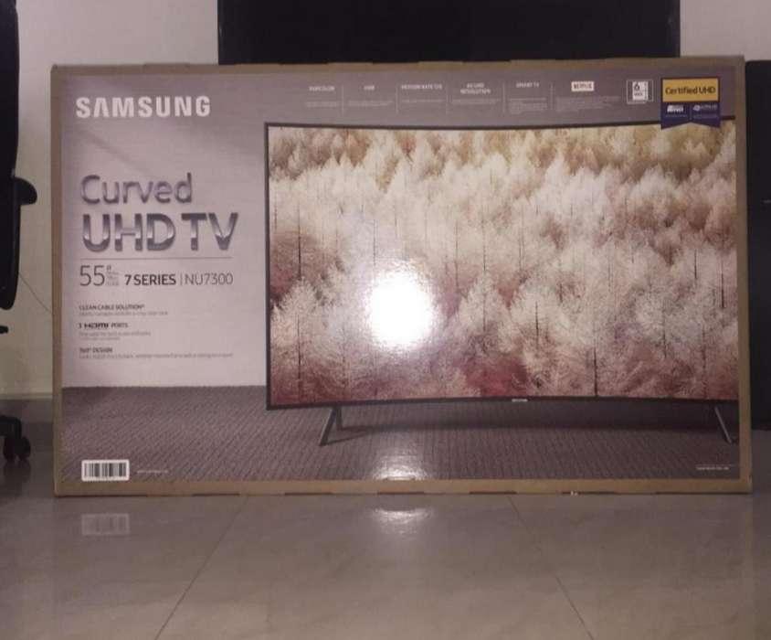 Smart Tv Samsung Curvo 55 4k