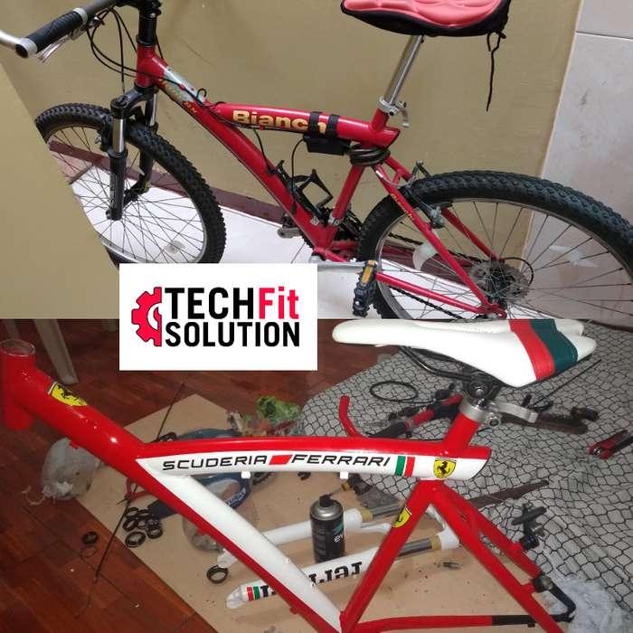 servicio de TUNNING para su bicicleta, Guayaquil