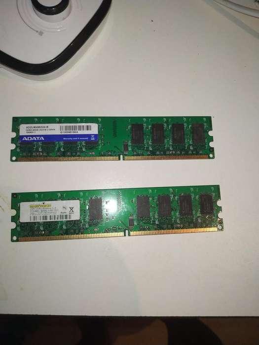 Memorias Ram Ddr2 de 2gs 4gs en Total