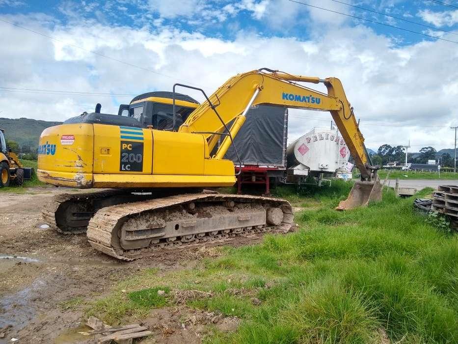Excavadora Komatsu 200
