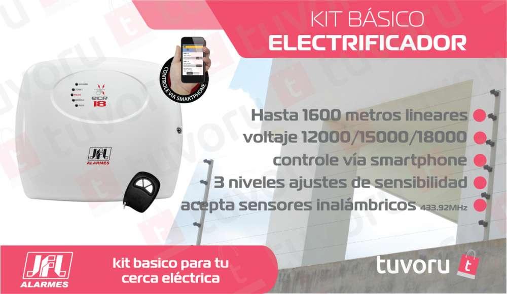Electrificador RESIDENCIAL para cerco eléctrico