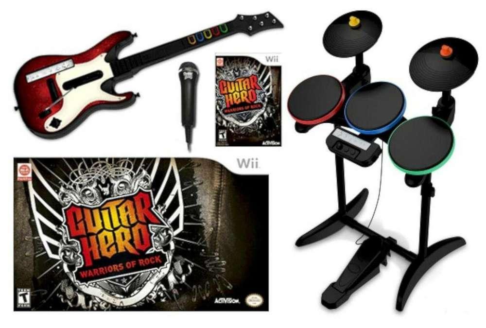 Rock Band Wii. Guitar Hero 6: Warriors of Rock.