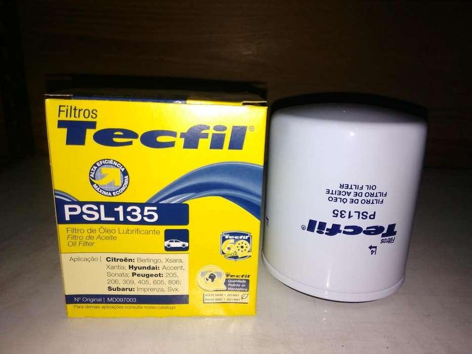Filtro De Aceite Tecfil Psl135 mann W712/8 Para Peugeot